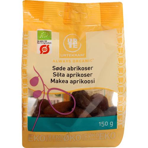 Urtekram Abrikoser søde Ø - 150 G