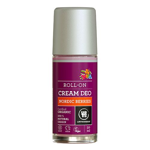 Image of   Urtekram - Body Care Cream Deo Roll On Nordic Berries - 50 ml