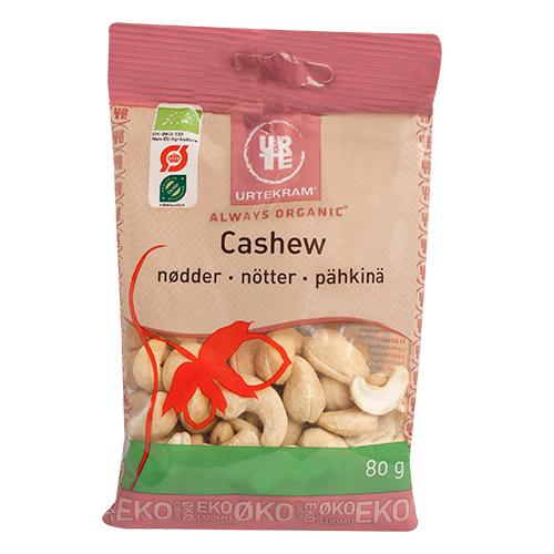 Urtekram cashewnødder fra Mecindo
