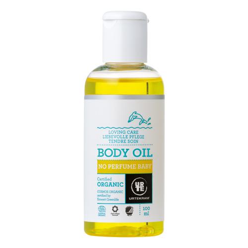 Image of   Urtekram - Body Care Baby Body Olie No Perfume - 100 ml