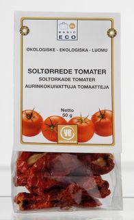 Urtekram soltørrede tomater fra Mecindo