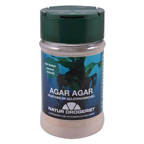 Billede af Natur-Drogeriet Agar-agar Pulver (Tang - Stivelse) - 50 G