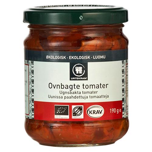 Urtekram Tomater ovnbagte i olie Ø - 190 G