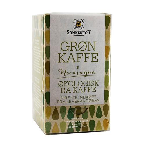 Image of   Sonnentor Grøn Kaffe Ø - 18 Brev