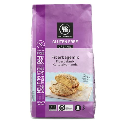 Urtekram Bagemix fiber Glutenfri Ø - 600 G