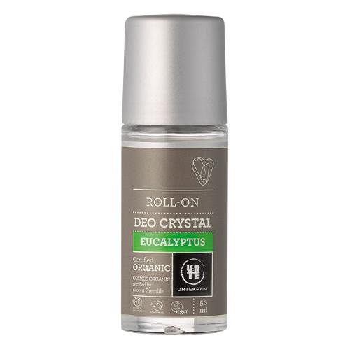 Image of   Urtekram - Body Care Deo Krystal Roll On Eucalyptus - 50 ml
