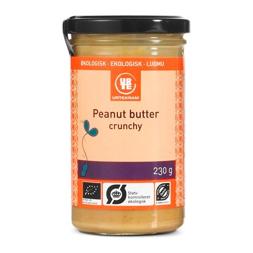 Urtekram Peanutbutter crunchy Ø - 230 G