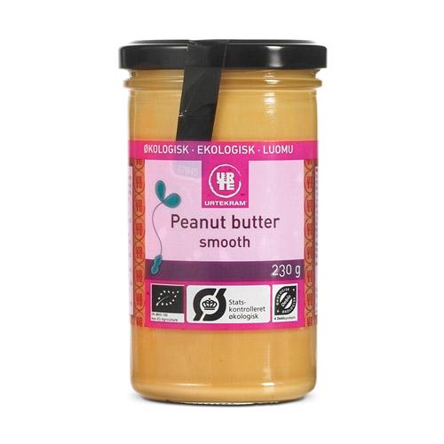 Urtekram Peanutbutter smooth Ø - 230 G
