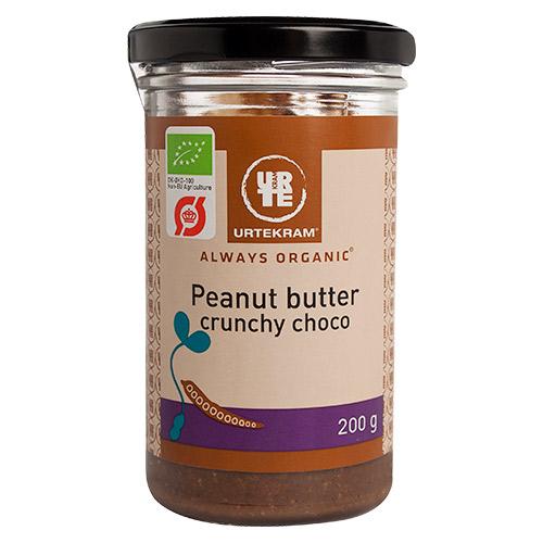 Urtekram Peanutbutter crunchy kakao Ø - 200 G