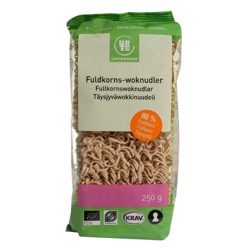Urtekram Fuldkorns woknudler Ø - 250 G