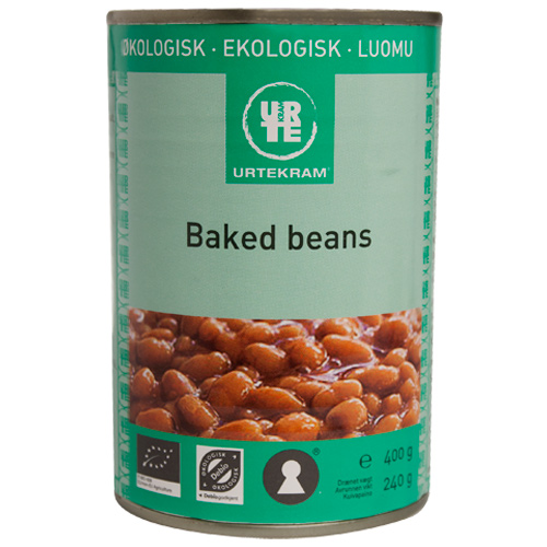 Image of   Urtekram Baked beans Ø - 400 G