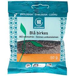 Image of   Urtekram Blå Birkes Ø - 50 G