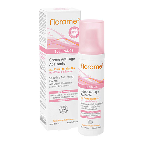 Florame Soothing anti-aging Cream Tolerance - 50 ml