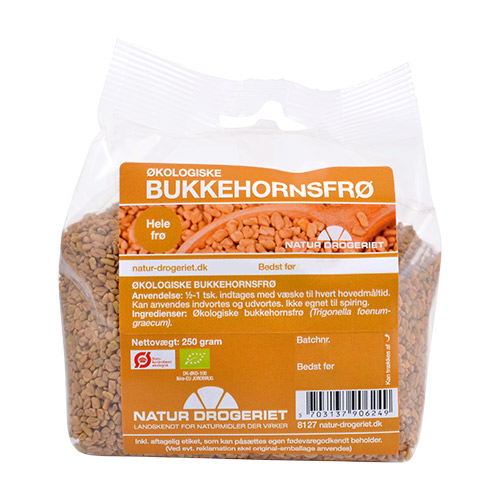 Natur-Drogeriet bukkehornsfrø fra Mecindo