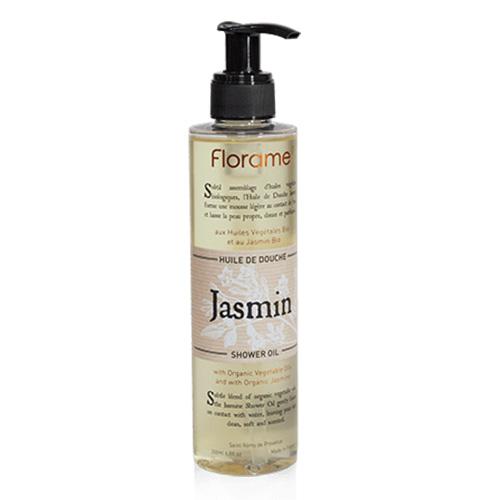 Image of   Florame Shower oil Jasmin - 200 ml