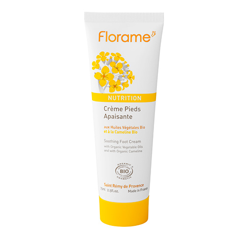 Image of   Florame Soothing Foot Cream Nutrition - 75 ml