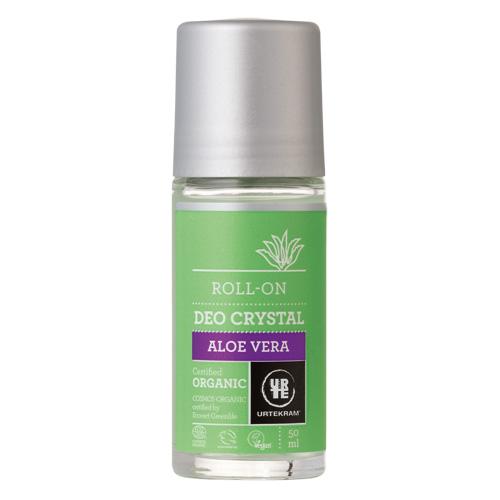 Image of   Urtekram - Body Care Deo Crystal Roll On Aloe Vera - 50 ml