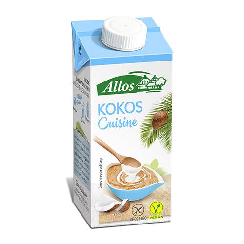 Image of Allos Kokosfløde Cuisine Ø - 200 ml