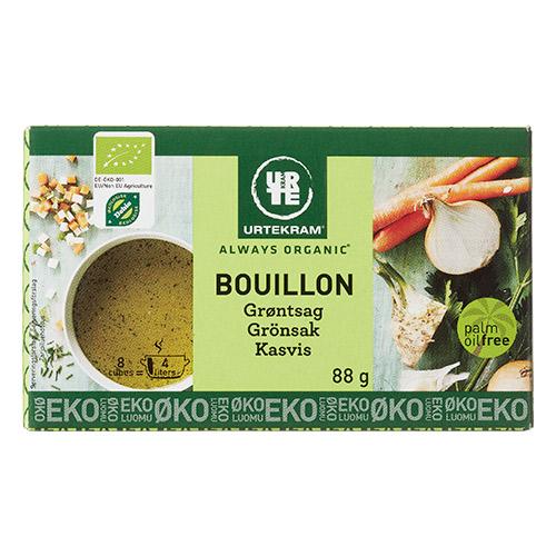 Urtekram Bouillon grøntsag Ø - 88 G