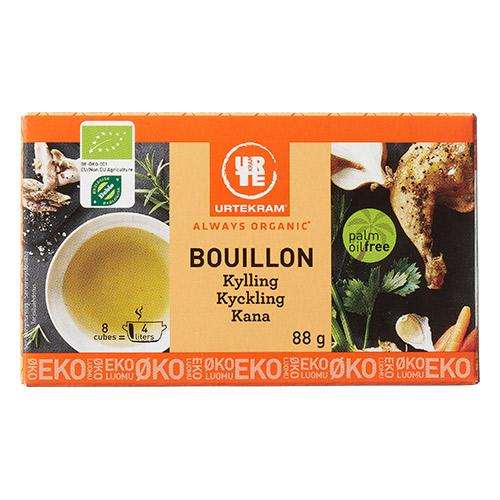 Urtekram Bouillon kylling Ø - 88 G