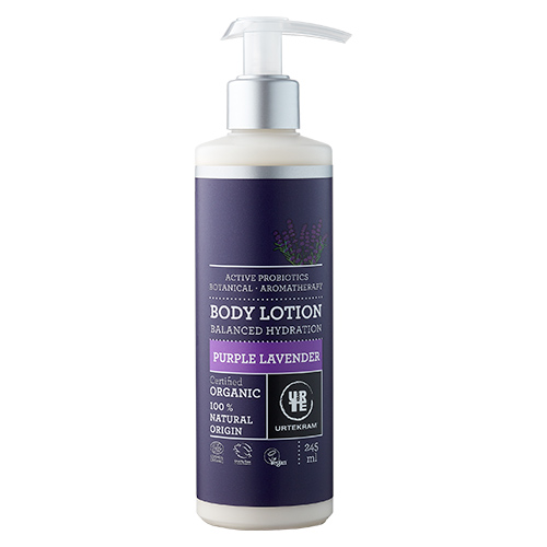 Image of   Urtekram - Body Care Bodylotion Purple Lavender - 245 ml
