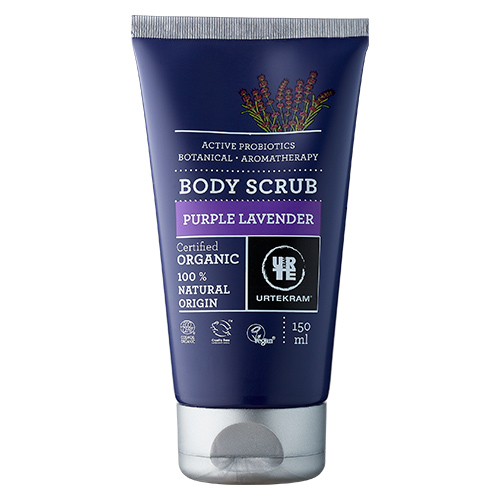 Image of   Urtekram - Body Care Bodyscrub Purple Lavender - 150 ml