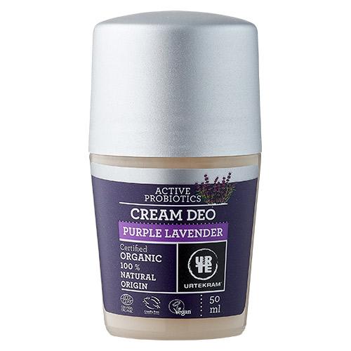 Image of   Urtekram - Body Care Cream Deo Purple Lavender - 50 ml