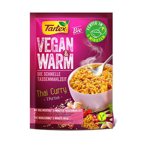 Billede af Tartex Vegan & Warm Thai Curry Ø - 65 G