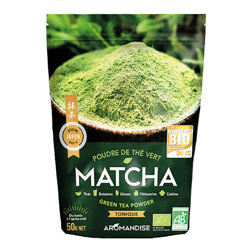 Image of Aromandise Matcha Te (Green Tea Powder) Ø - 50 G