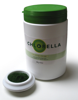 Image of   Algomed Chlorella Pulver - 350 G