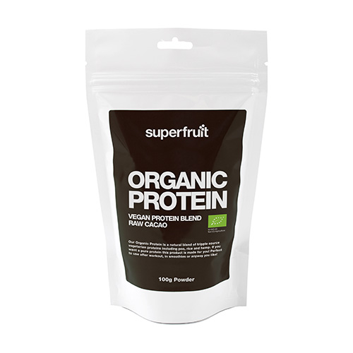Image of   Superfruit Protein Pulvermix Cacao Ø Organic - 100 G