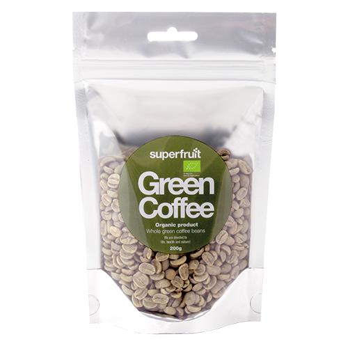 Image of   Superfruit Kaffe Bønner Grønne Ø - 200 G