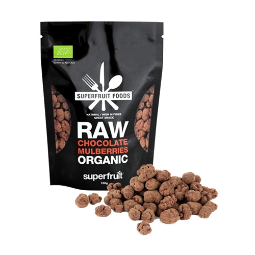 Superfruit Mulberries Raw Chocolate Ø - 100 G