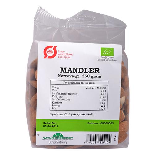 Natur-Drogeriet mandler fra Mecindo