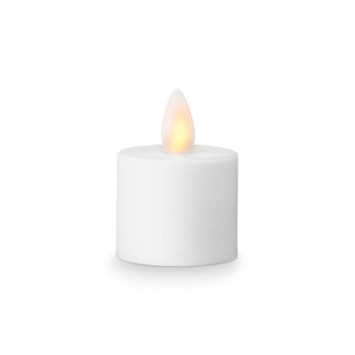 Image of   Sompex LeveLys LED Fyrfadslys Hvid 3,6x3,1 cm - 1 stk
