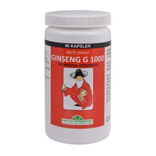 Natur-Drogeriet ginseng fra Mecindo