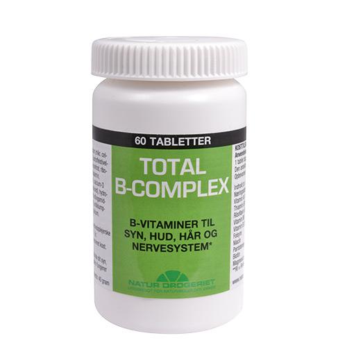 Billede af Natur-Drogeriet B-complex Total - 60 Tabl