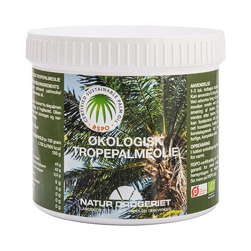 Natur-Drogeriet palmeolie fra Mecindo