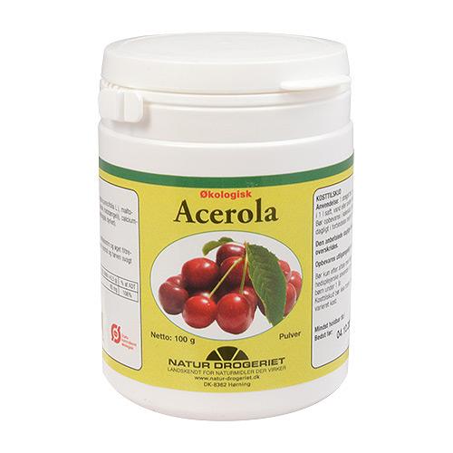 Billede af Natur-Drogeriet Acerola C-pulver Ø - 100 G