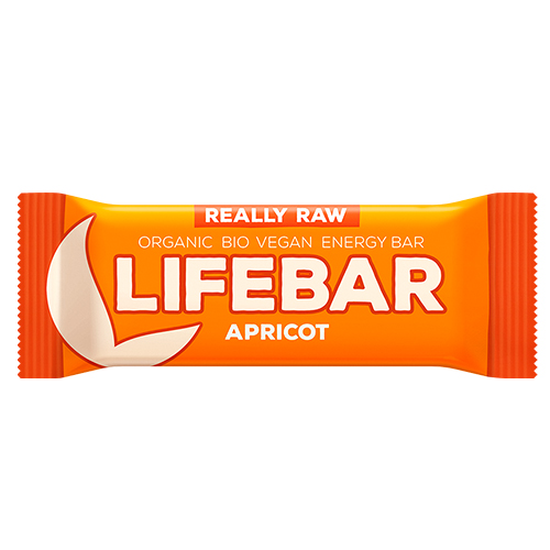 Image of   AbsorBurn Lifebar Abrikos Raw Ø - 47 G
