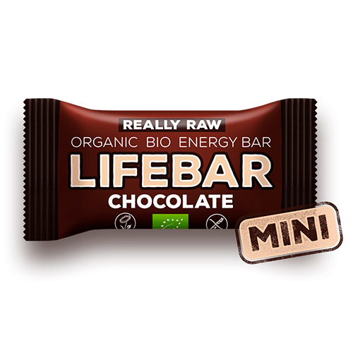 Image of   AbsorBurn Lifebar Mini Raw Chocolate Raw Ø - 25 G