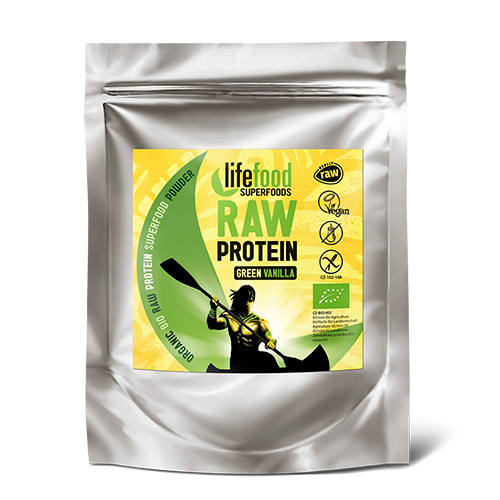 Image of AbsorBurn Proteinpulver Green Vanilla Ø Superfood RAW - 35 G