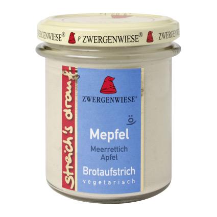Billede af Smørepålæg peberrod, æble streich Ø Zwergenwiese - 160 G