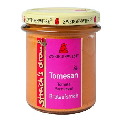 Billede af Zwergenwiese Smørepålæg tomat, parmesan streich Ø - 160 G