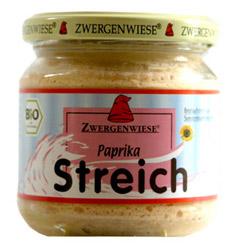 Billede af Smørepålæg veg. paprika streich Ø Zwergenwiese - 180 G