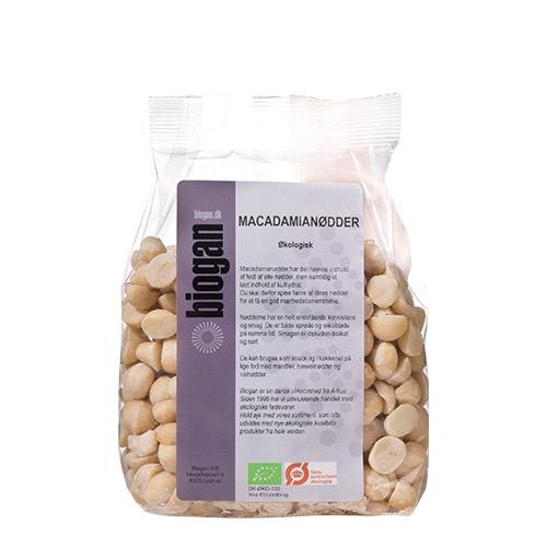 Biogan macadamianødder fra Mecindo