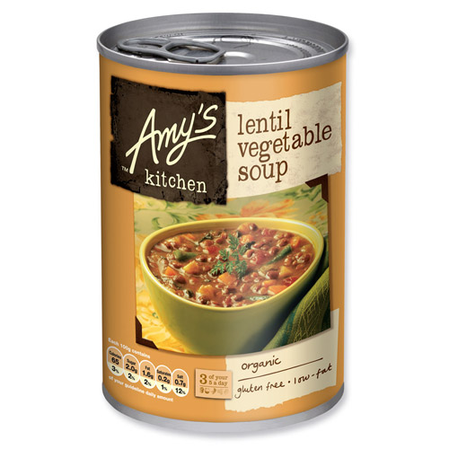 Image of Amy s Kitchen Linse & Grønsagssuppe Ø - 397 G