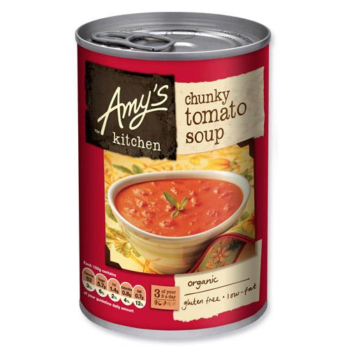 Image of Amy s Kitchen Tomatsuppe m. tomat stykker Ø - 400 G