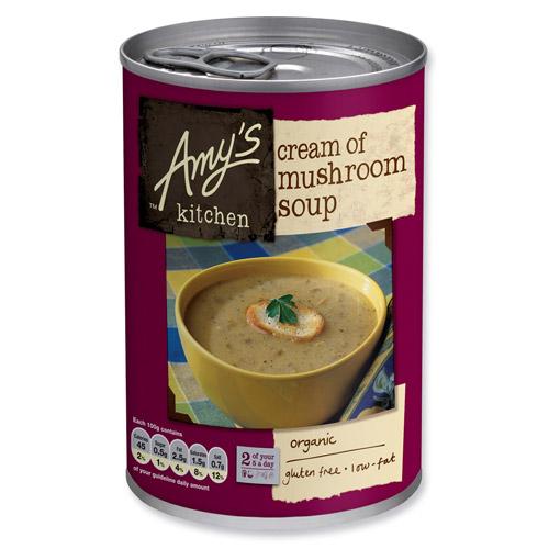 Image of Amy s Kitchen Cremet Champignonsuppe Ø - 400 G