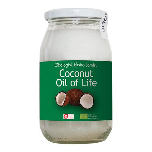 Oil of Life kokosolie fra Mecindo